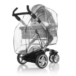 ABC Design 984100 Plus Regenverdeck für Kinderwagen, Clear -