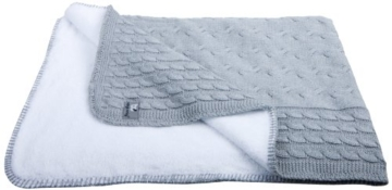 Baby's Only 811022 Baby Decke, grau -
