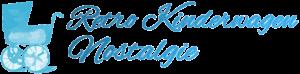 retro kinderwagen nostalgie logo